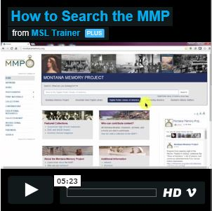 How to Search the MMP